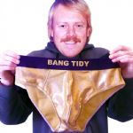 BANG TIDY Underpants | Gold Briefs